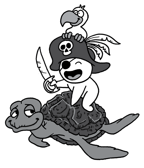 Pirate sur Tortue