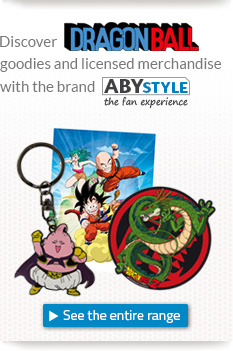 Discover Dragon Ball goodies and licensed merchandise with the brand ABYstyle