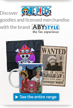 Discover One Piece goodies and licensed merchandise with the brand ABYstyle